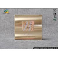China Foil Stamping Cardboard Gift Boxes Luxury Design For Cosmetic Skincare Cream wholesale