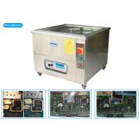 China High Effiency Ultrasonic PCB Cleaner , 88L 1200W Heated Ultrasonic Cleaner wholesale