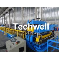 China Galvanized Steel Sheet Double Layer Roof Panel Roll Forming Machine for Two Roof Wall Panel Profiles wholesale