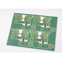 China Green Solder Mask Rigid Flexible PCB 4 Layer with Immersion Gold Plating wholesale