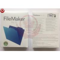 Quality English language FileMaker Pro 16 Education Mac / Win Retail Box for sale