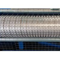 China Electric Galvanized Wire Roll Mesh Welding Machine PLC Control For Construction on sale