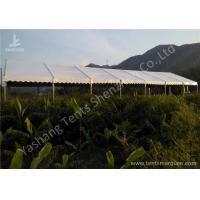 China 100 Percent Waterproof Aluminum Frame Canopy Tents , Big Event Tent Structure wholesale