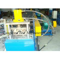 China Chain Driven 2 Waves W Beam Highway Guardrail Roll Forming Machine 8-12m/Min Capacity wholesale
