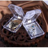 China Delicate Durable Acrylic Jewelry Display Case Recycyled With Cast Acrylic wholesale