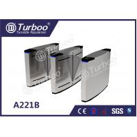 China Swing Optical Barrier Turnstiles Gate Access Control Anti - Temperature wholesale