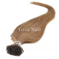 China Full Cuticle Double Drawn Pre Bonded Hair Extensions No Foul Odor wholesale