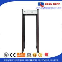 China 10W 18 Zones Portable Walk Through Metal Detectors 12 Months Warranty ISO wholesale