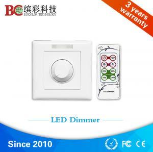 China zhuhai bincolor ir remote control dc 12volt 24volt 48volt 6A led dimmer switch wholesale