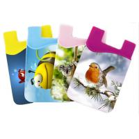 China Mini Cell Phone Silicone Cases Silicone Rubber Smart Wallet wholesale