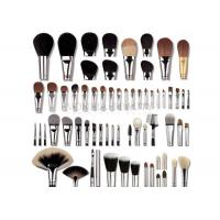 China Highest Grade Natural Hair Private Label Makeup Brushes With Copper Ferrule wholesale