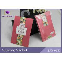 China Accept Customize Scented Envelope Sachet Tulip Scented Paper Scented Sachet on sale