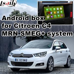 Buy cheap Citroen C4 C5 C3 - XR SMEG+ MRN SYSTEM Car Navigation box mirrorlink video play product
