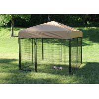China Safety Welded Wire Metal Dog Kennel Anti Rust Multiple Sizes 8