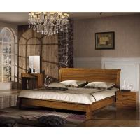 China China simple design wood double bed wholesale