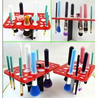 China Simple Acrylic Makeup Storage , Puff Eye Shadow Pen Cosmetic Display Stands wholesale