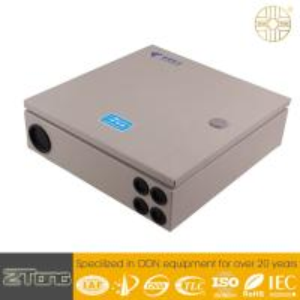China High Grade Carbon Steel Fiber Optic Splitter Box , Splitter Distribution Box 12-24F wholesale