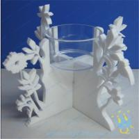 China CH (20) decorative candle holder tall Acrylic candle holder wholesale