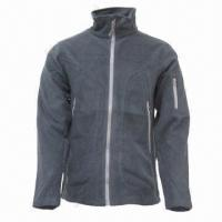 China Unisex Fleece Jacket with Fashionable Trend, Ideal for Outdoor and Casual Wear wholesale