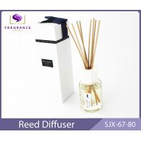 China custom Rose Essential Oil Reed Diffuser 80ml home fragrance diffuser wholesale