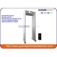 China Guard Spirit  Walk Through Metal Detector For Railway Stations Airport Security wholesale