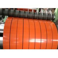 China DX51D SGCC GI Steel Strip Coil Color Coated Galvanized For Corrugated Steel Roof wholesale