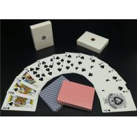 Buy cheap Germany Black Core Casino Playing Cards Printed Personalised Deck of Playing from wholesalers