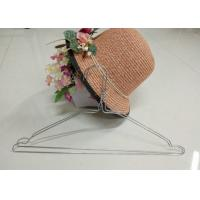 China Multifunctional Wire Dry Cleaning Hangers  16 Inches 2.2mm Thickness For Wet Clothes wholesale
