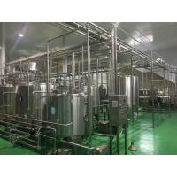 China High Efficiency Pasteurized Milk Production Line Dairy Manufacturing Equipment wholesale