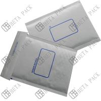 China White Self Sealer Hot Melt Glue Bubble Padded Mailer With 1c Printed wholesale