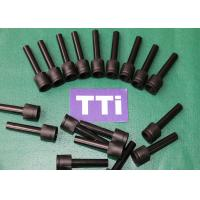 China Black Plastic Injection Molded Parts /  ABS + PC Industrial Tubes wholesale