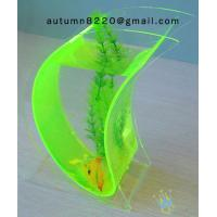 China Wonderful acrylic wall mount fish bowl wholesale