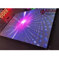 China SMD3528 6.25mm Disco Dance Floor Rental Full Color IP65 500mm × 500mm wholesale