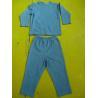 China Solid Colors Children'S Cotton Pajamas Simple Boys Two Piece Pajamas Lightweight wholesale