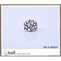 China OEM / ODM customed 316l stainless steel death's - head ring H-JK0037 wholesale