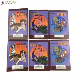 China Coated Paper Children'S Board Book Printing Sewn Case Binding UV Varnish wholesale