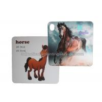 China Custom 3d Lenticular Card PET For Childrenl Gifts / 3d Lenticular Image wholesale