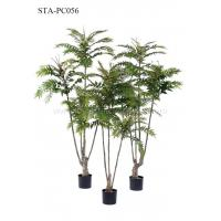 China Multiple Stems Faux Chinese Toon Tree Plastic And Fabric Decoration Plant wholesale