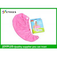 China Various Colors Hair Drying Towel Wrap , Quick Dry Hair Towels 250GSMg wholesale