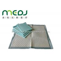 Quality Incontinence Disposable Medical Underpads High Absorptance Waterproof PE Film Bottom for sale