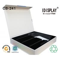 China Rigid Cardboard High End Magnetic Closure Gift Box With Cut Out EVA / Foam Insert For Phone wholesale