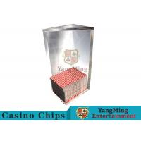 Buy cheap 250g Triangle 6 Deck Card Holder High Capacity With Special Acrylic Material from wholesalers