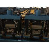 China Gavalnized Half Round And K Gutter Channel Roll Forming Machine wholesale