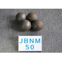 Quality 50mm Hyper Steel Grinding Media Balls High Core Hardness 61-62 hrc for Power for sale