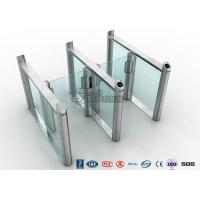 Quality Stylish Optical Speed Gate Turnstile Bi - Directional Pedestrian Queuing Systems Entry Barriers for sale
