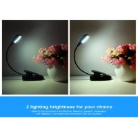 China Free Standing Battery Operated Led Clip On Book Light Portable Durable on sale