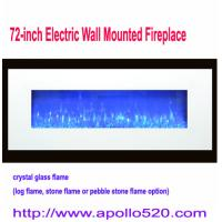 China Hole And Hang On The Wall Electric Fires in white wholesale