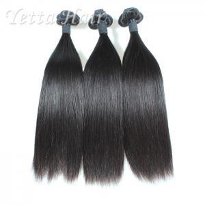 China Natural Black Funmi Human Hair / Brazilian Straight Remy Hair wholesale