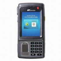 China Fingerprint Recognition with Microsoft Windows Mobile 6.5 OS, GPRS, Wi-Fi and Camera wholesale