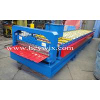 China Blue High Speed Roof Panel Roll Forming Machine / Roll Former wholesale